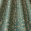 Ткань для штор Isadore Brocade Teal Daylight